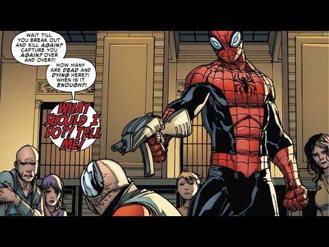 Обзор комикса Superior Spider-Man I Совершенный Человек паук.