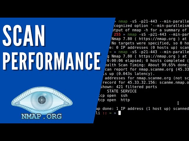 Nmap - Scan Timing And Performance