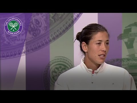 Garbiñe Muguruza Wimbledon 2017 fourth round press conference