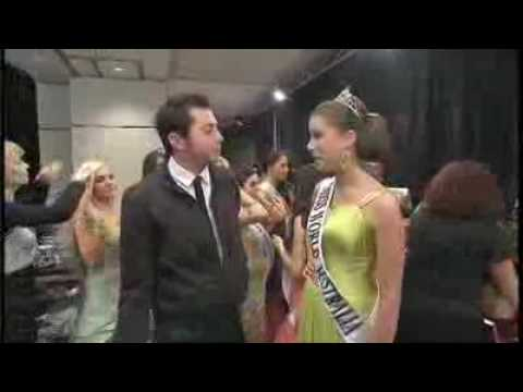 The 7pm Project - James Mathison Interviews Miss World Australia