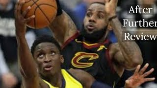 TMOBA presents:  Was Lebron James Block of Victor Oladipo really Goaltending.