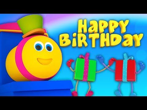 Bob den Zug   Alles Gute zum Geburtstag Lied   Kinderreime auf Deutsch   Bob Happy Birthday