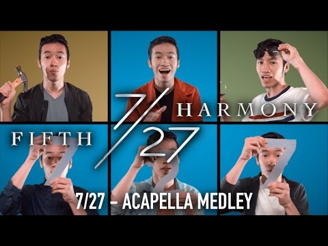 FIFTH HARMONY - 7/27 ACAPELLA MEDLEY | INDY DANG