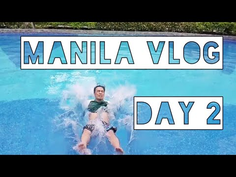 VLOG: MANILA TRIP DAY 2 (WE WENT ON A STORM DAY)
