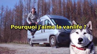 POURQUOI J'AIME LA VANLIFE ❓ en Fourgon aménagé - rencontre Mushers dans le Jura - Voyage Voyages