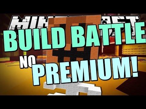 Сервера Майнкрафт с Build Battle