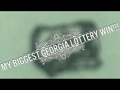 My BIGGEST Georgia Lottery Win!!! $10 Willy Wonka Golden Ticket