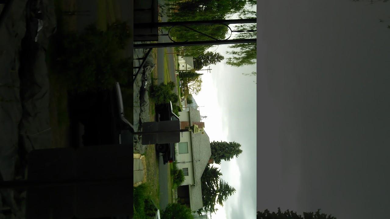 Lightning ⚡ Strike Endicott WA!?
