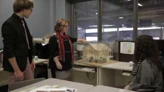 Ma formation ma vie... en dessin de bâtiment!