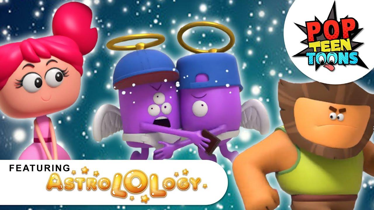 AstroLOLogy:LOVE MISMATCHED| Teenage Love Hacks | Valentine's Special Cartoon | Pop Teen Toons