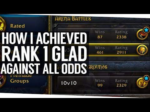How I Achieved My First Rank 1 Gladiator Against All Odds