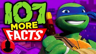 107 MORE Facts About Teenage Mutant Ninja Turtles! (ToonedUp #154) @ChannelFred