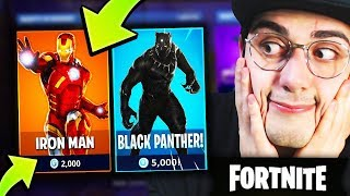 SHOPPO la SKIN IRONMAN! Pass Battaglia Season 4 Fortnite
