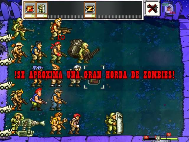 Metal Slug Soldiers vs Zombies.