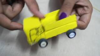 Making of real working Hydraulic dump truck (toy) from matchbox .. Real fun Project