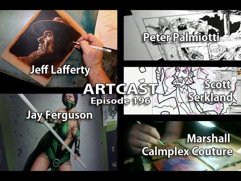 Artcast #196 Printing Sketch Books & T Shirts