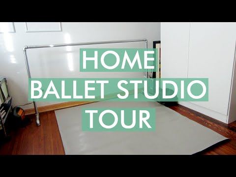 Home Ballet Studio Tour