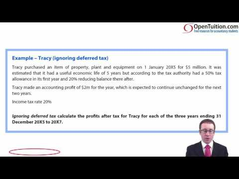 CIMA F2 Taxation (IAS 12) - Deferred tax