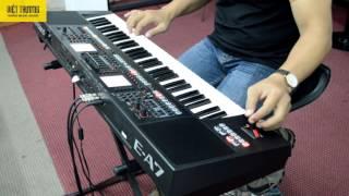 Demo Style Roland E-A7 cây cầu dừa