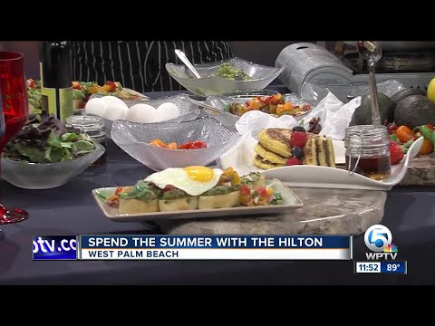 Spend the summer with the Hilton West Palm Beach