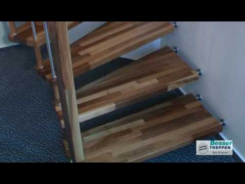 tragholmtreppe making of doovi. Black Bedroom Furniture Sets. Home Design Ideas