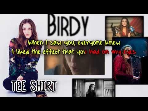Birdy - Tee Shirt [Karaoke/Instrumental]