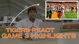 Clemson Football || 🐅 Tigers React to Game 3 Highlights
