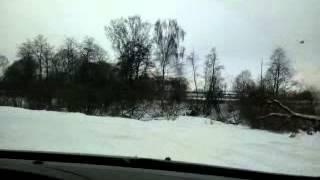 Ситроен С5 по следам Дастер-клаб, вид из кабины(, 2014-02-11T19:01:14.000Z)