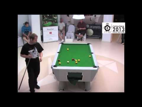 Phil Harrison vs Pat O'kane last 32 Second Open CPF 2013