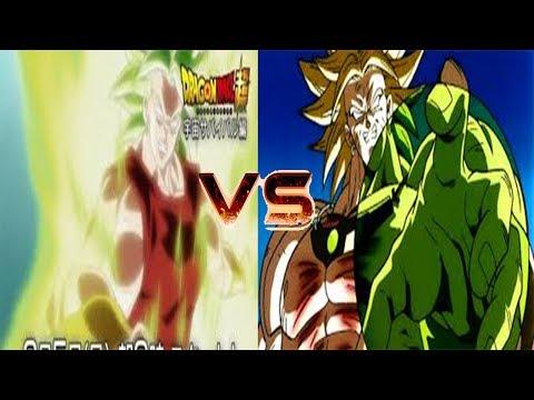 Kale (MUJER BROLY) VS Broly (TRANSFORMACIÓN/TRANSFORMATION)