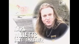 "BOLT THROWER - Interview + Making of ""...For Victory"" / 1994"