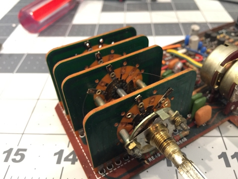 Project Marantz 2265 Part 2: cleaning the pots, knobs, and switches with DeOxit - SIMPLETHINGSTOYS