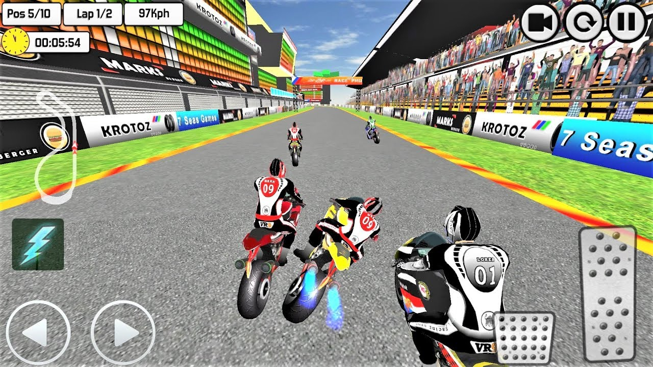 HILL TOP BIKE RACING GAMES 2019 #Extreme Motorbike Race Game #Bike Games  For Android