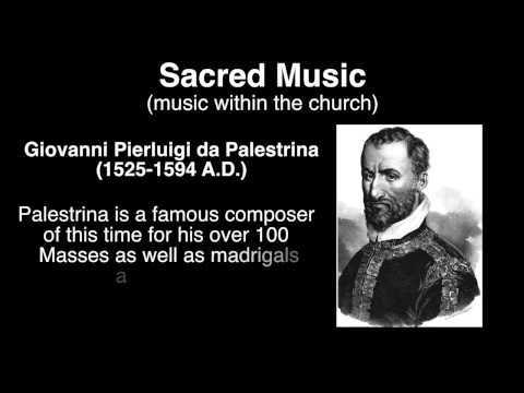 Renaissance Music Overview