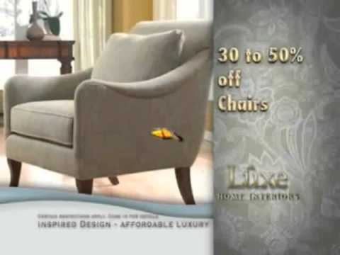 "Luxe Home Interiors - ""Luxe Bucks"" - TV Spot Oct."
