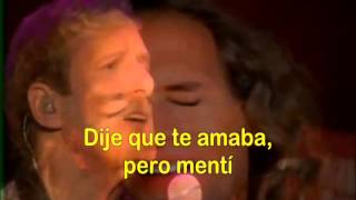 Said I love you (M Bolton)  español