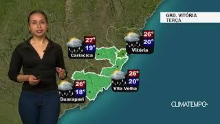 Previsão Grande Vitória – Pancadas de chuva