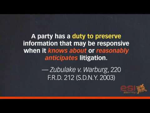What is eDiscovery?