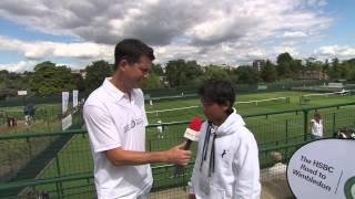 Wimbledon: Tim Henman introduces the 2013 Road to Wimbledon junior tournament