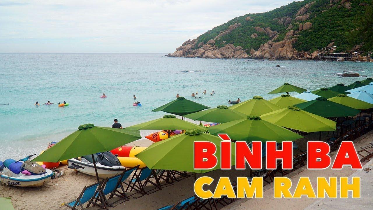 Đảo Bình Ba Cam Ranh du lịch hè 2 ngày 1 đêm ăn tôm hùm
