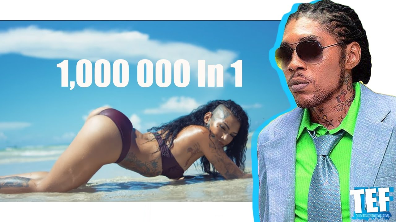 """Vybz Kartel creates HISTORY """"Colouring this life"""" Video reaches 1 million  views in one week!"""