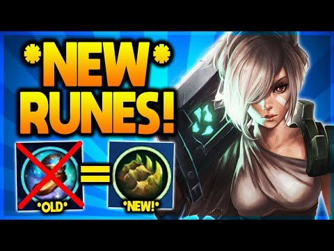 *NEW!* VERY OP RIVEN RUNES! YOU MUST TRY... (Season 9 Riven Guide)