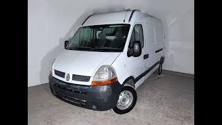 (SOLD) Turbo Diesel Mid Roof LWB 4 Door Manual Renault Master Van 2006 Review