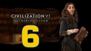 Прохождение Civilization 6: Gathering Storm #6 - Все цивилизации [Швеция - Божество]