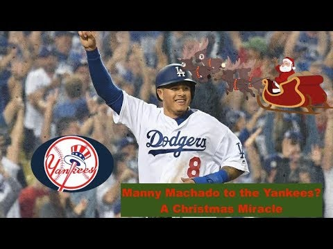 Yankees in the Manny Machado Sweepstakes