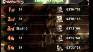 Time Attack Records + Tekken Lord Everybody