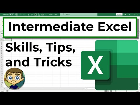 Intermediate Excel Skills, Tips, and Tricks - 2017 Tutorial