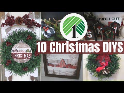 10 CHRISTMAS DOLLAR TREE DIYS 2019