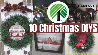 10 CHRISTMAS DOLLAR TREE DIYS 2019