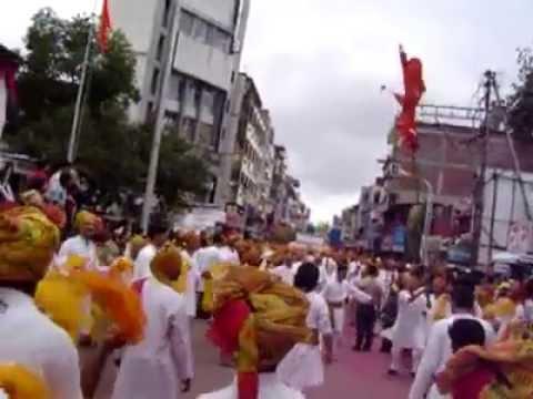 Pune Ganapati visarjan miravnuk Dhol Tasha pathak #1